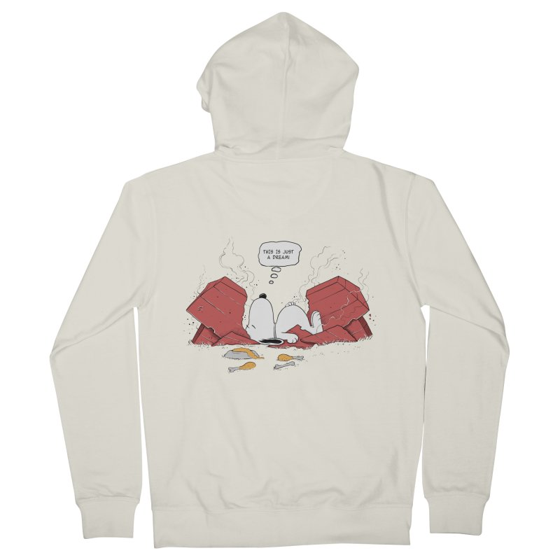 Dreaming! Men's Zip-Up Hoody by azrhon's Artist Shop