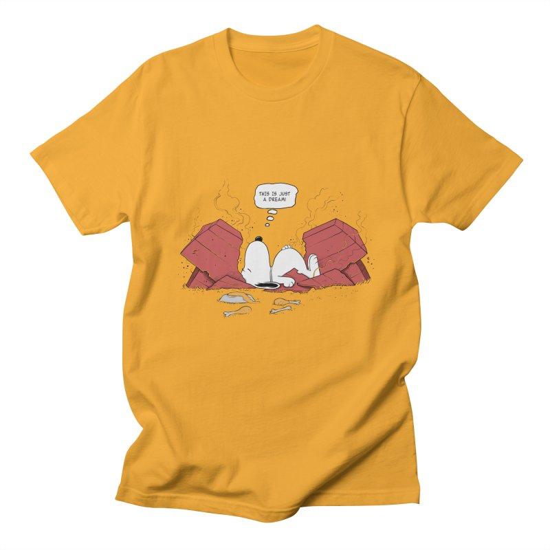 Dreaming! Men's T-Shirt by azrhon's Artist Shop