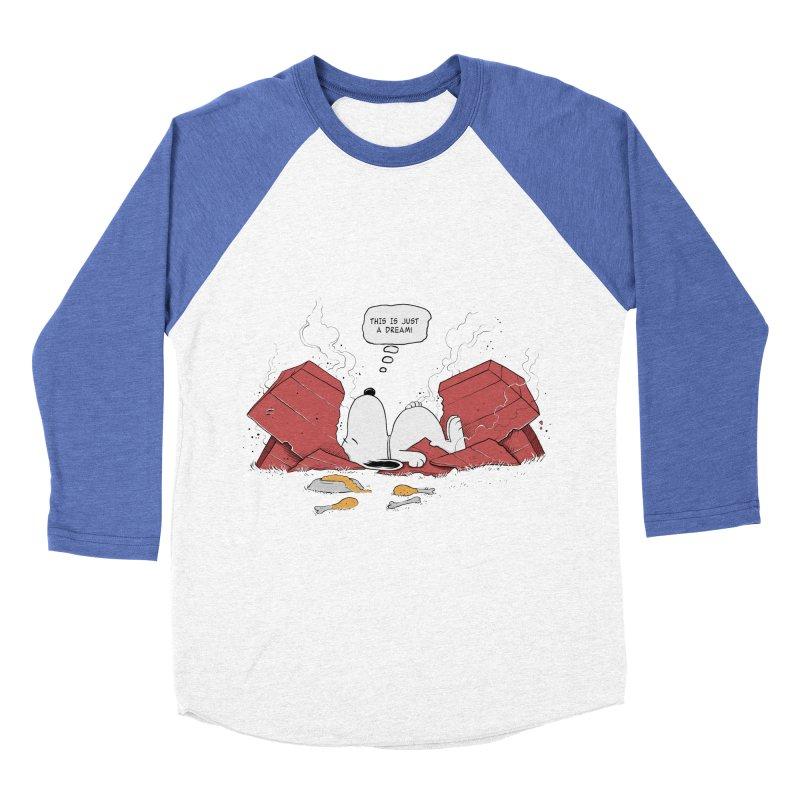 Dreaming! Women's Baseball Triblend T-Shirt by azrhon's Artist Shop