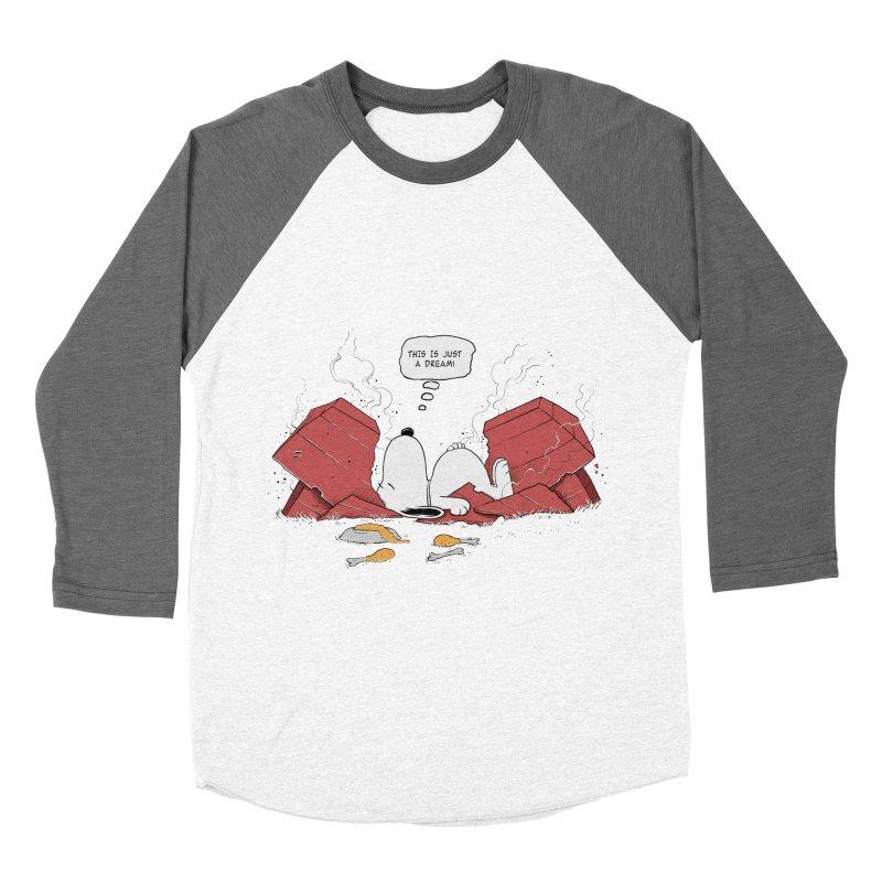 Dreaming! Men's Baseball Triblend T-Shirt by azrhon's Artist Shop