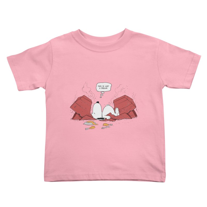 Dreaming! Kids Toddler T-Shirt by azrhon's Artist Shop