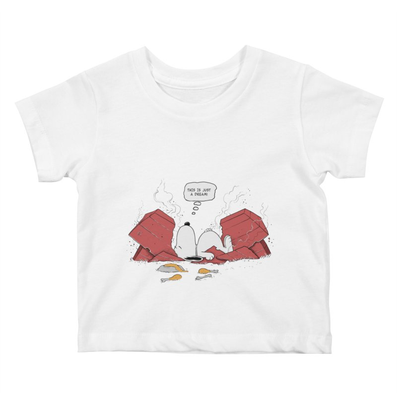 Dreaming! Kids Baby T-Shirt by azrhon's Artist Shop