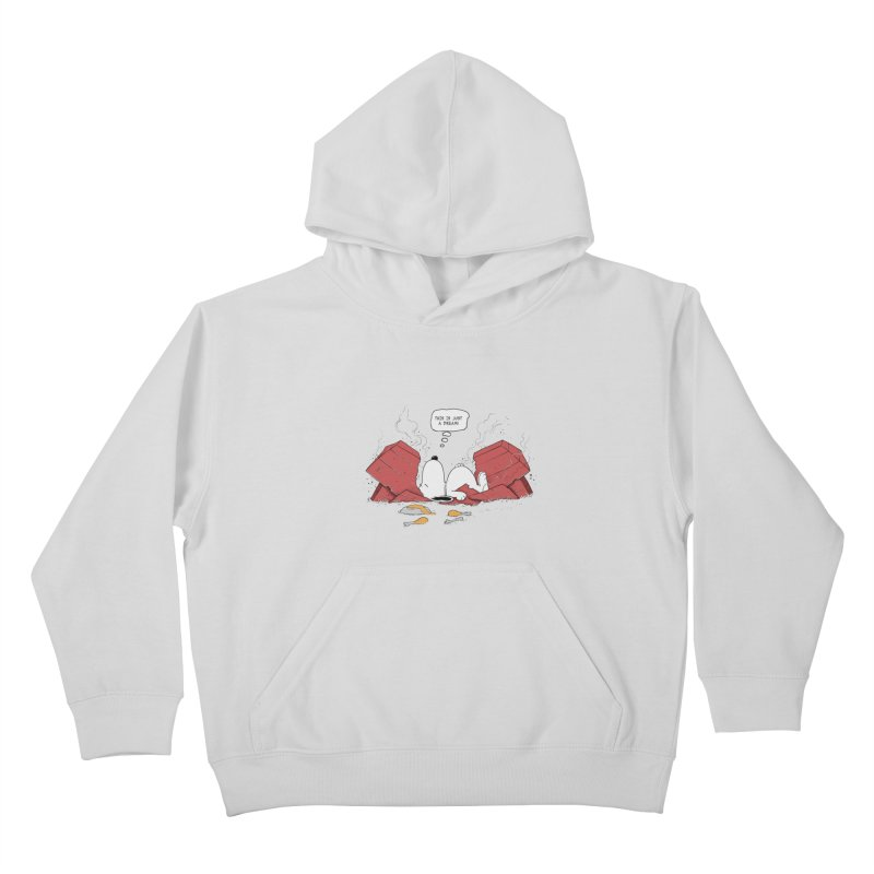Dreaming! Kids Pullover Hoody by azrhon's Artist Shop