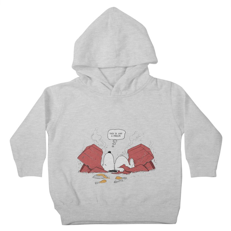 Dreaming! Kids Toddler Pullover Hoody by azrhon's Artist Shop