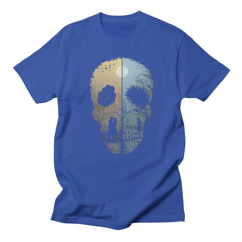 Skull Story Men's French Terry Zip-Up Hoody by azrhon's Artist Shop