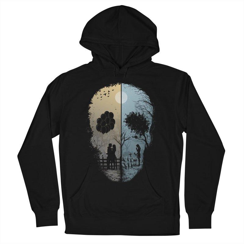 Skull Story Men's Pullover Hoody by azrhon's Artist Shop