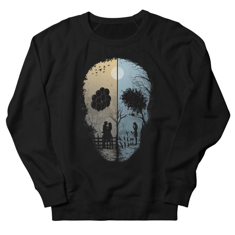 Skull Story Men's Sweatshirt by azrhon's Artist Shop