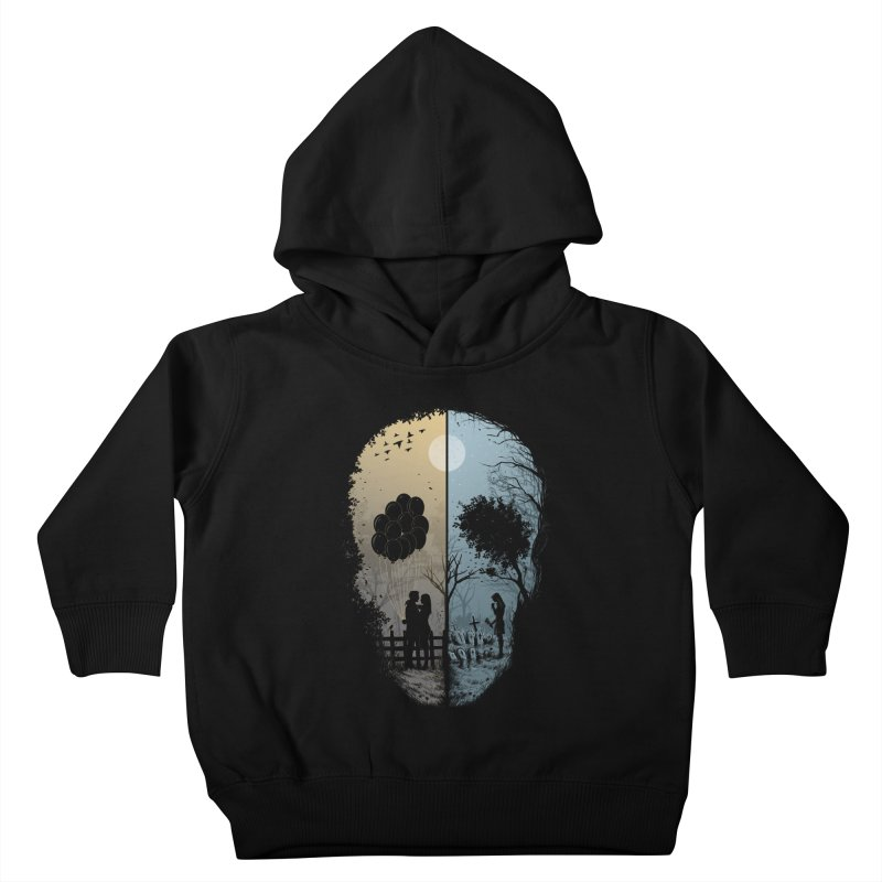 Skull Story Kids Toddler Pullover Hoody by azrhon's Artist Shop