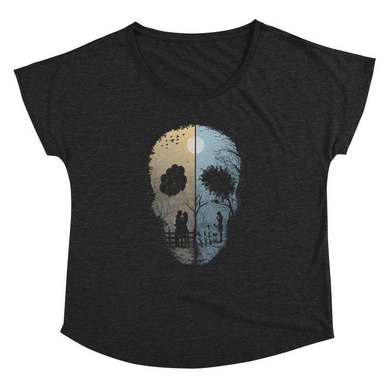 Skull Story Women's Dolman by azrhon's Artist Shop