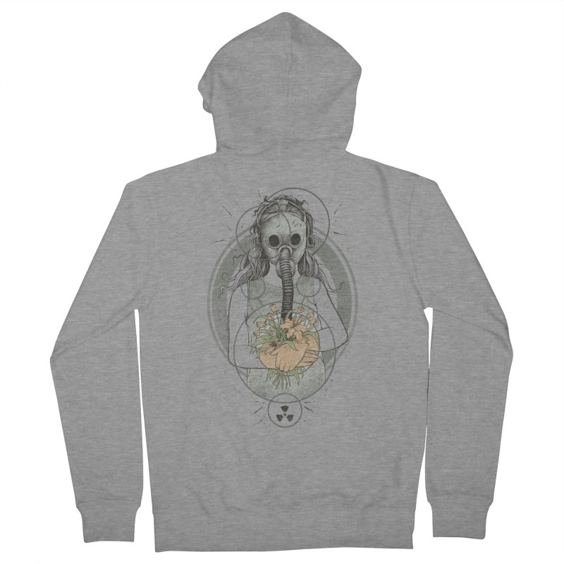 Hope Men's Zip-Up Hoody by azrhon's Artist Shop