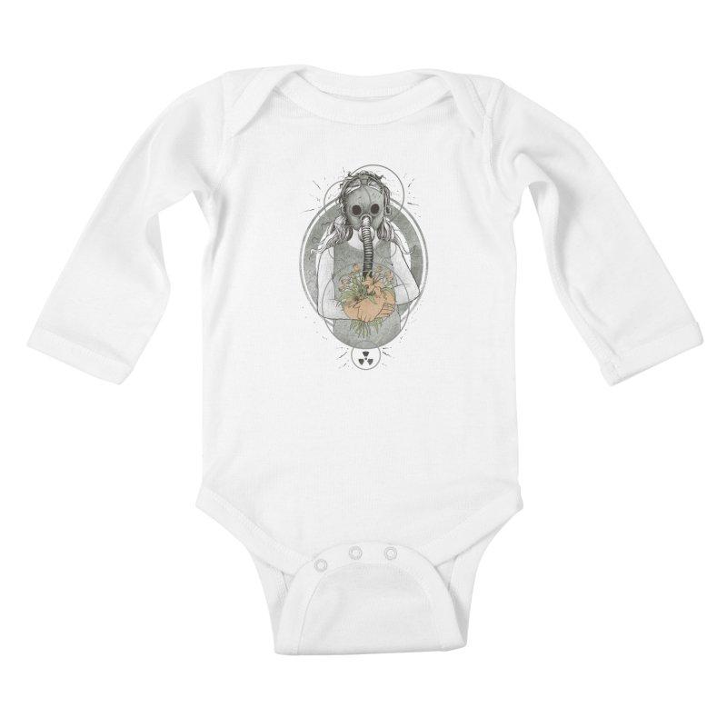 Hope Kids Baby Longsleeve Bodysuit by azrhon's Artist Shop