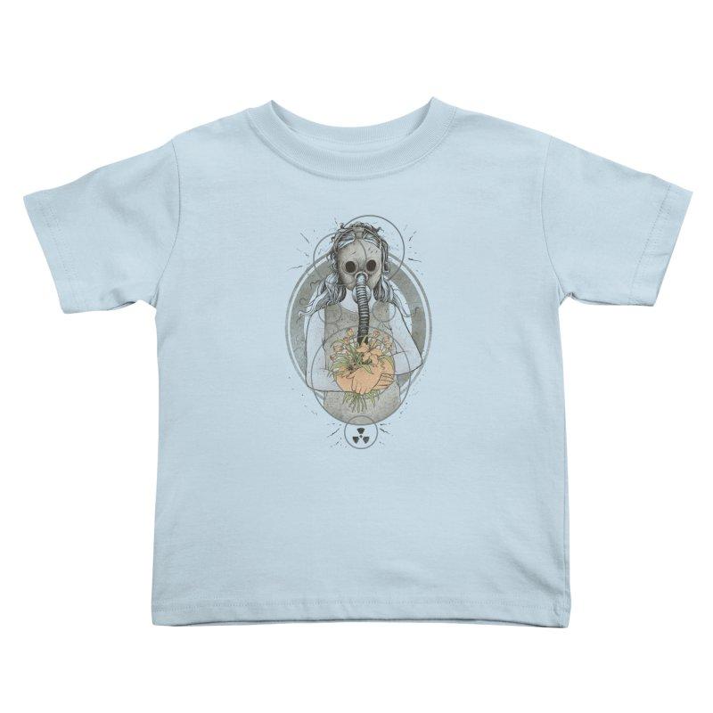 Hope Kids Toddler T-Shirt by azrhon's Artist Shop