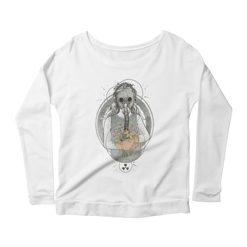 Hope Women's Longsleeve Scoopneck  by azrhon's Artist Shop