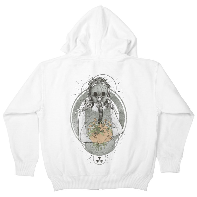 Hope Kids Zip-Up Hoody by azrhon's Artist Shop