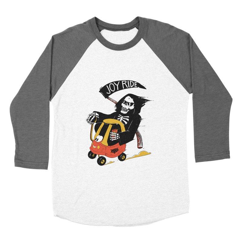 Joy Ride Men's Baseball Triblend T-Shirt by azrhon's Artist Shop