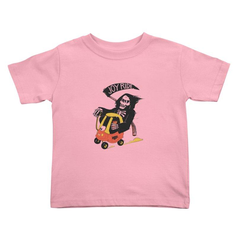 Joy Ride Kids Toddler T-Shirt by azrhon's Artist Shop