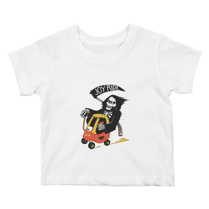 Joy Ride Kids Baby T-Shirt by azrhon's Artist Shop