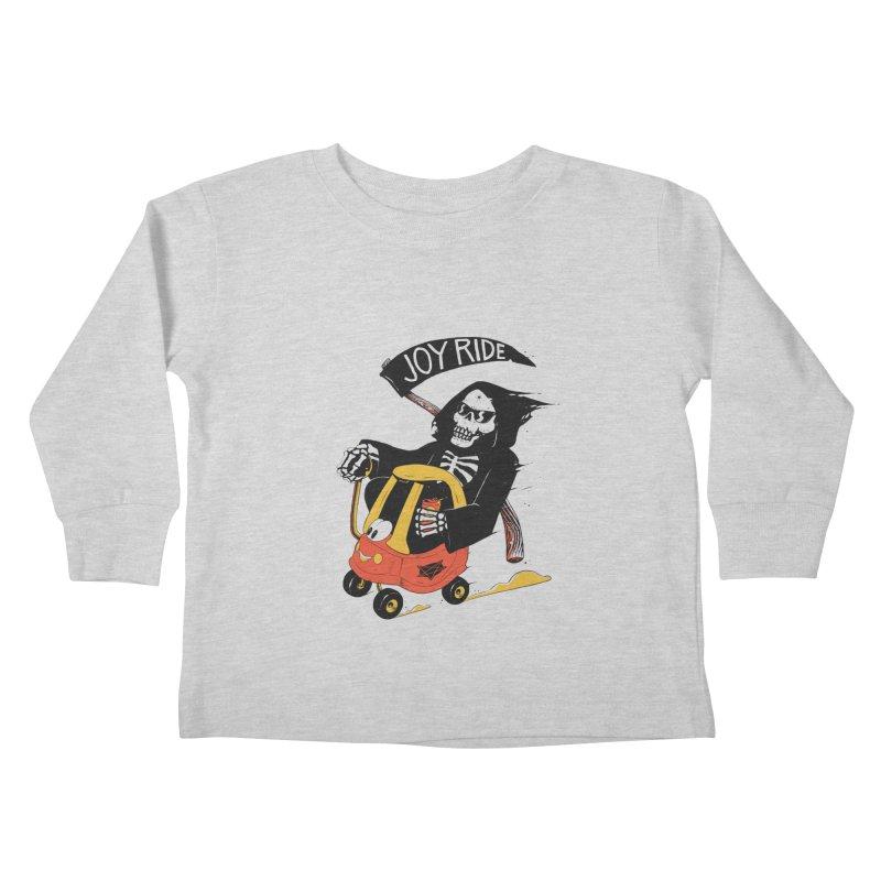 Joy Ride Kids Toddler Longsleeve T-Shirt by azrhon's Artist Shop