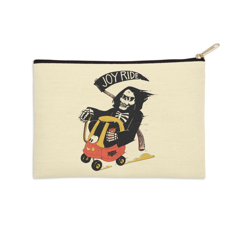 Joy Ride Accessories Zip Pouch by azrhon's Artist Shop