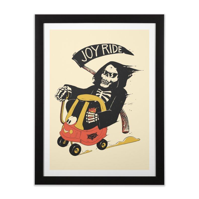 Joy Ride Home Framed Fine Art Print by azrhon's Artist Shop