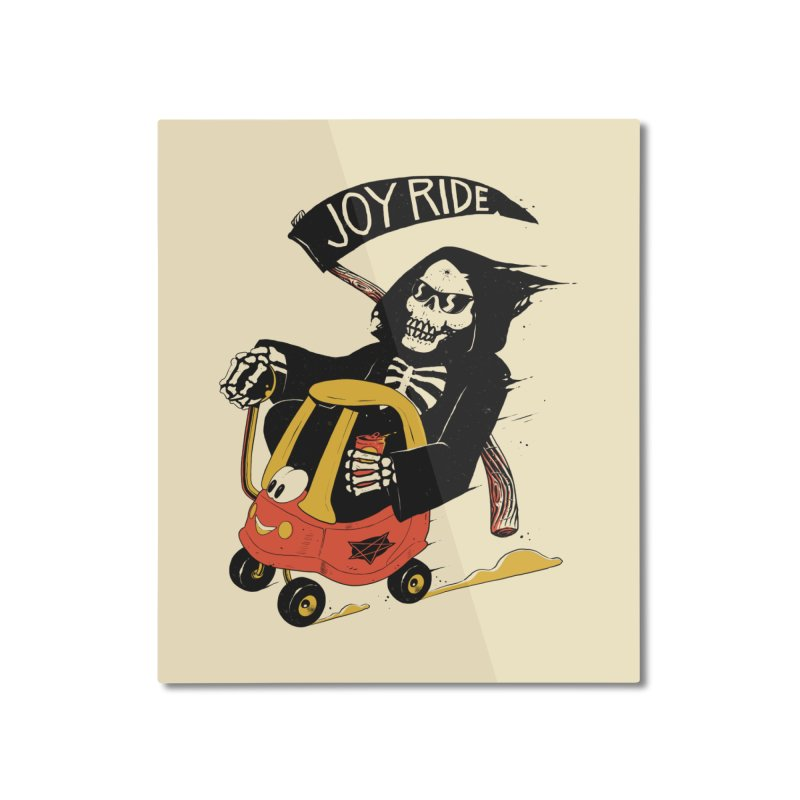 Joy Ride Home Mounted Aluminum Print by azrhon's Artist Shop