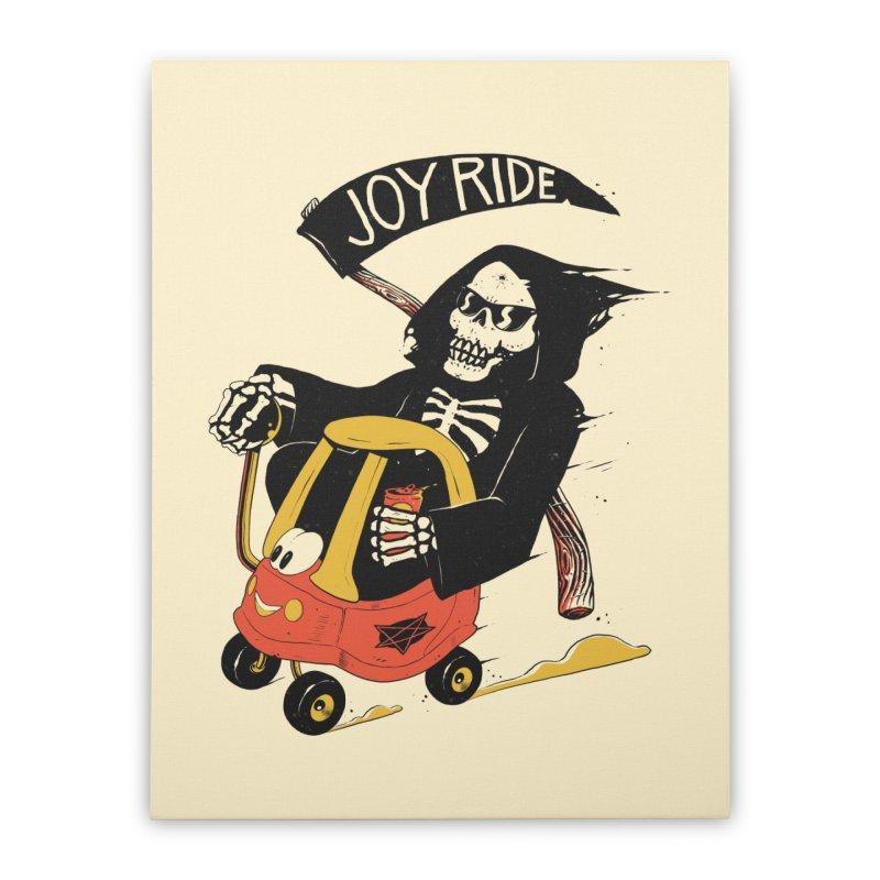 Joy Ride Home Stretched Canvas by azrhon's Artist Shop