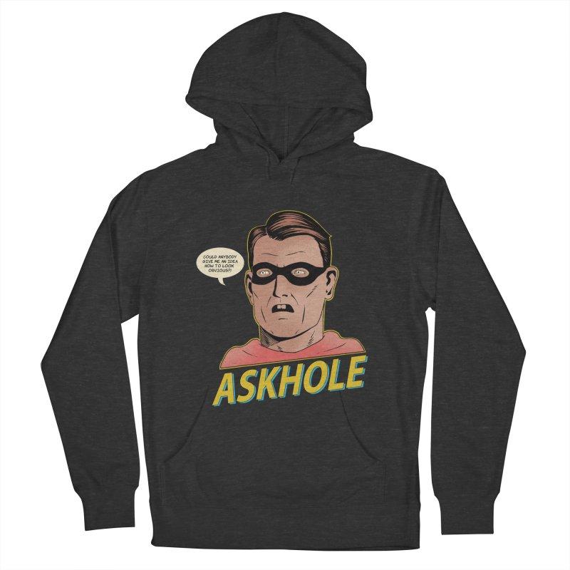Askhole Men's Pullover Hoody by azrhon's Artist Shop