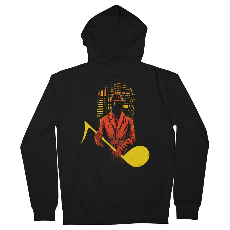 The Shadow Men's Zip-Up Hoody by azrhon's Artist Shop