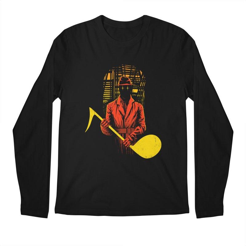 The Shadow Men's Longsleeve T-Shirt by azrhon's Artist Shop