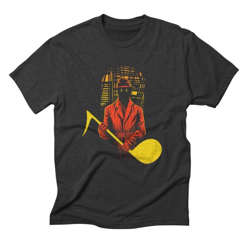 The Shadow Men's Triblend T-Shirt by azrhon's Artist Shop
