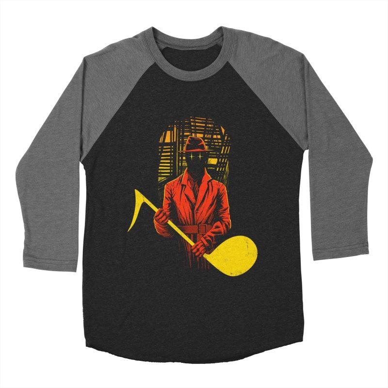 The Shadow Men's Baseball Triblend T-Shirt by azrhon's Artist Shop