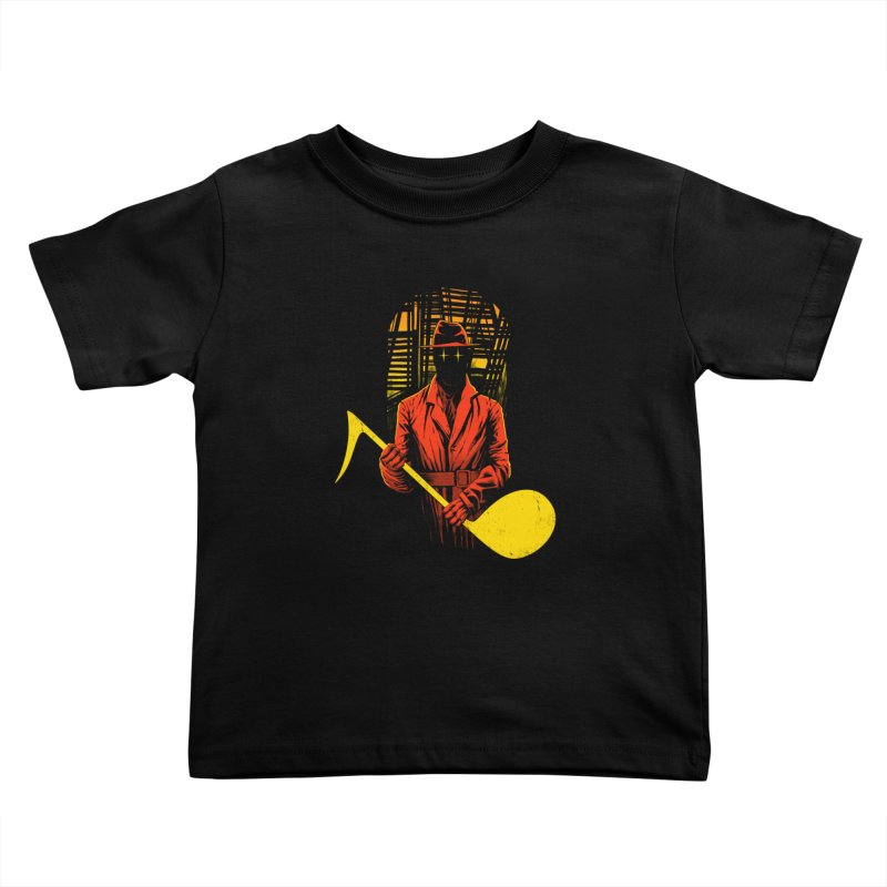 The Shadow Kids Toddler T-Shirt by azrhon's Artist Shop