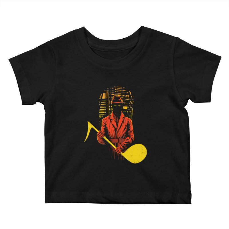 The Shadow Kids Baby T-Shirt by azrhon's Artist Shop