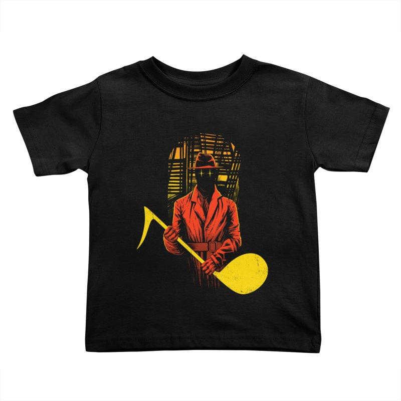 The Shadow Kids Toddler T-Shirt by azrhon's Artist Shop