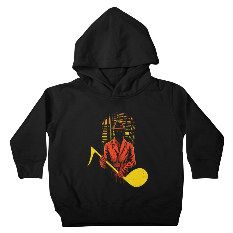 The Shadow Kids Toddler Pullover Hoody by azrhon's Artist Shop