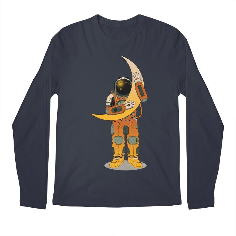 My Moon Men's Longsleeve T-Shirt by azrhon's Artist Shop