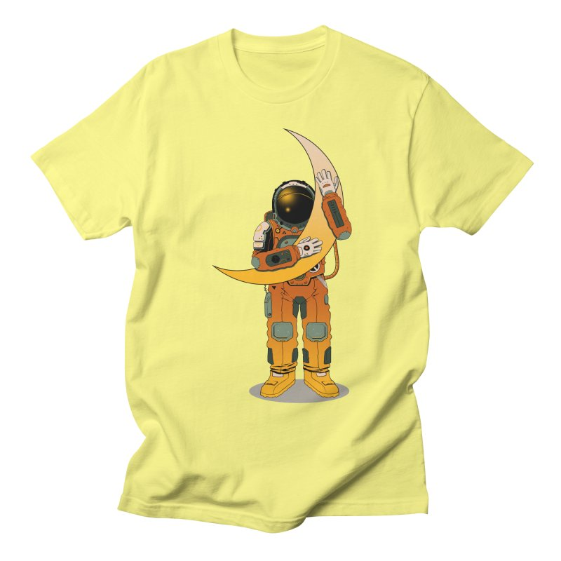 My Moon Men's T-shirt by azrhon's Artist Shop