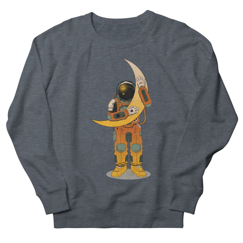 My Moon Men's Sweatshirt by azrhon's Artist Shop