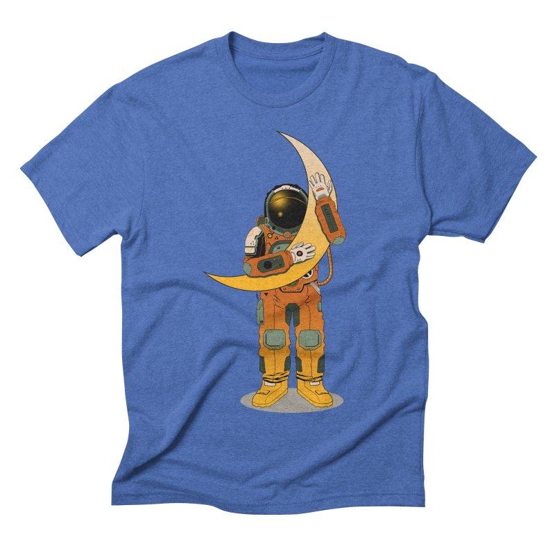 My Moon Men's Triblend T-Shirt by azrhon's Artist Shop