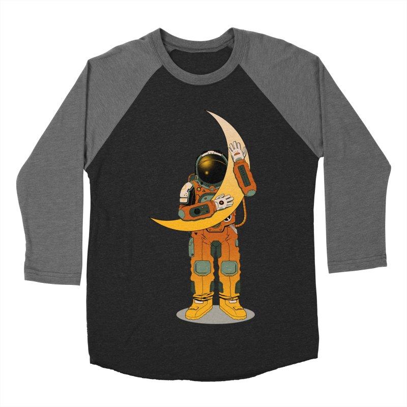 My Moon Women's Baseball Triblend T-Shirt by azrhon's Artist Shop
