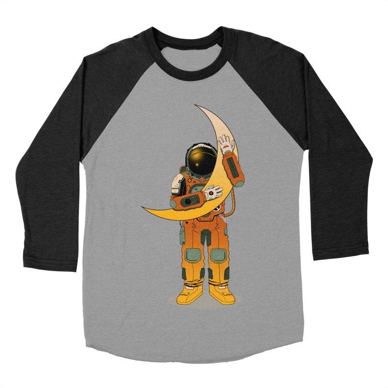 My Moon Men's Baseball Triblend T-Shirt by azrhon's Artist Shop