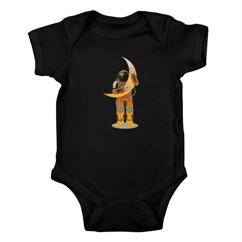My Moon Kids Baby Bodysuit by azrhon's Artist Shop