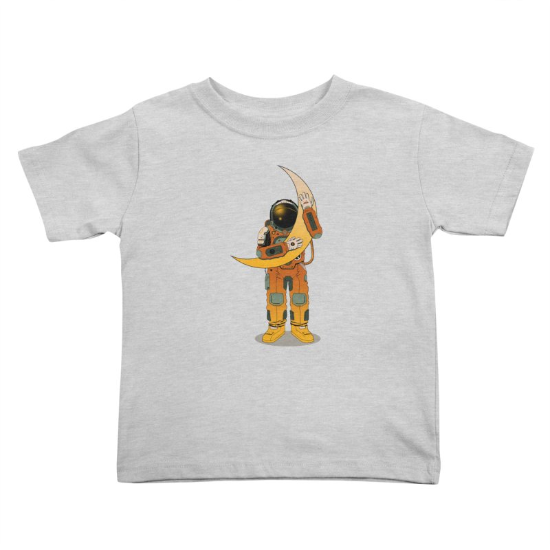 My Moon Kids Toddler T-Shirt by azrhon's Artist Shop