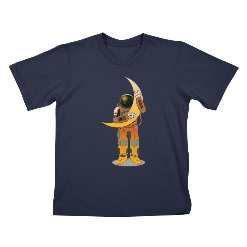 My Moon Kids T-shirt by azrhon's Artist Shop