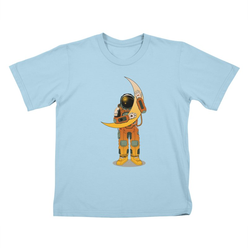 My Moon Kids T-Shirt by azrhon's Artist Shop