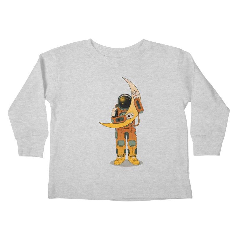 My Moon Kids Toddler Longsleeve T-Shirt by azrhon's Artist Shop