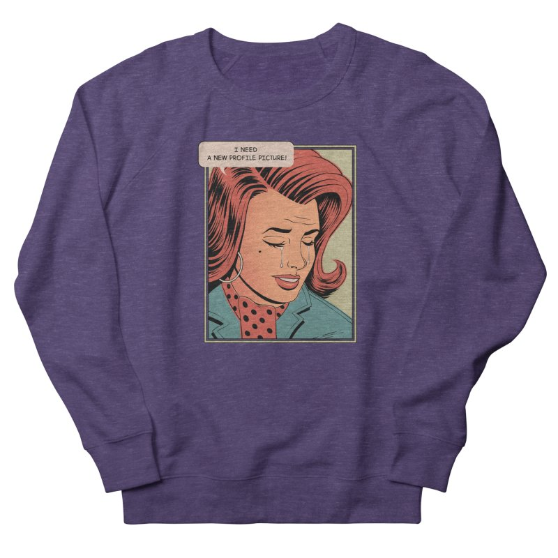 Profile Pic Women's Sweatshirt by azrhon's Artist Shop