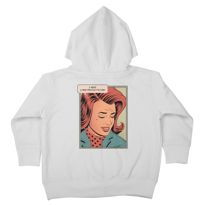 Profile Pic Kids Toddler Zip-Up Hoody by azrhon's Artist Shop