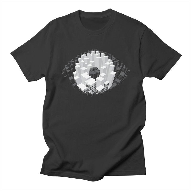 Bird's Eye View Men's T-Shirt by B4 Abraham's Artist Shop