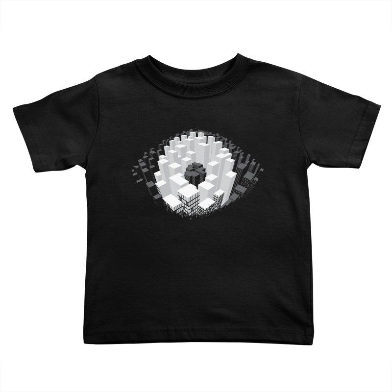 Bird's Eye View Kids Toddler T-Shirt by B4 Abraham's Artist Shop